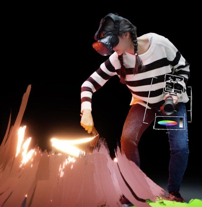 VR Tilt Brush